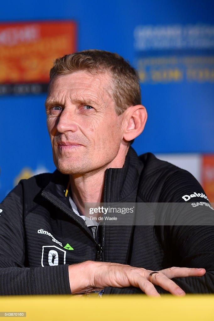 103th Tour de France 2016 / PC Team Dimension Data Rolf ALDAG (GER) Technical Director / Press Conference Team Dimension Data (RSA)/ TDF /
