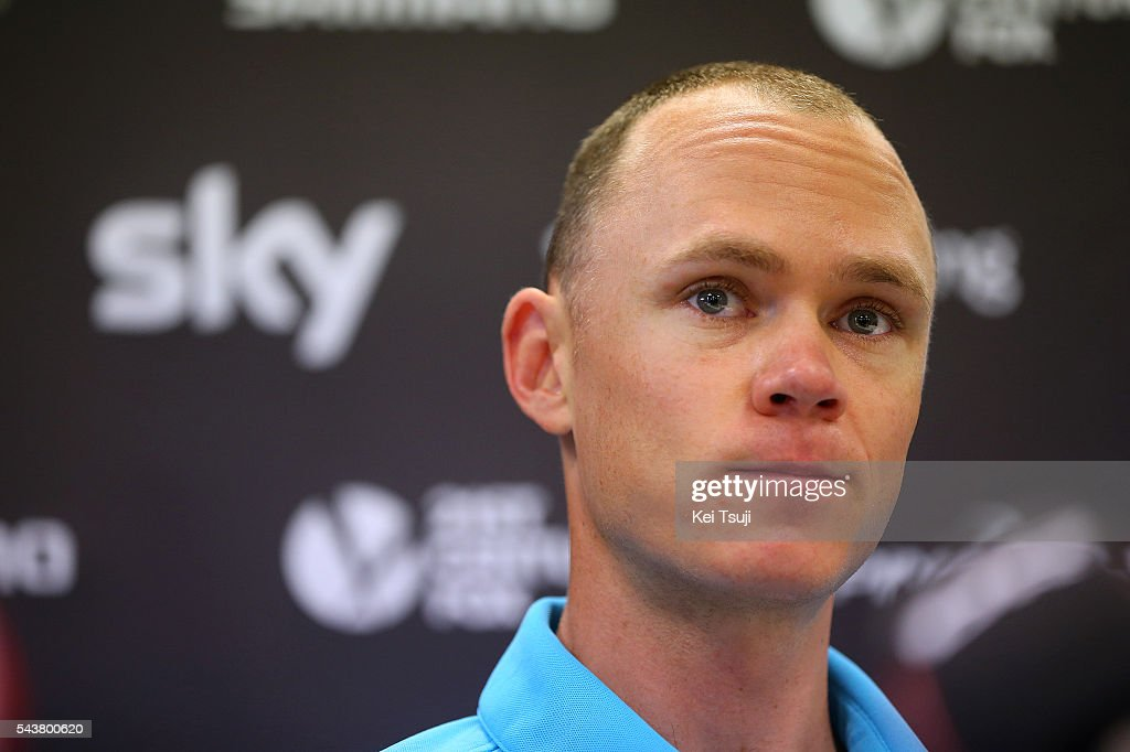 103th Tour de France 2016 / PC Team Sky Christopher FROOME (GBR)/ Press Conference Team Sky (GBR)/ TDF /