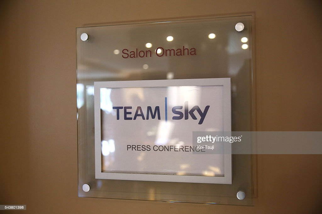 103th Tour de France 2016 / PC Team Sky Illustration / Press Conference Team Sky (GBR)/ TDF /