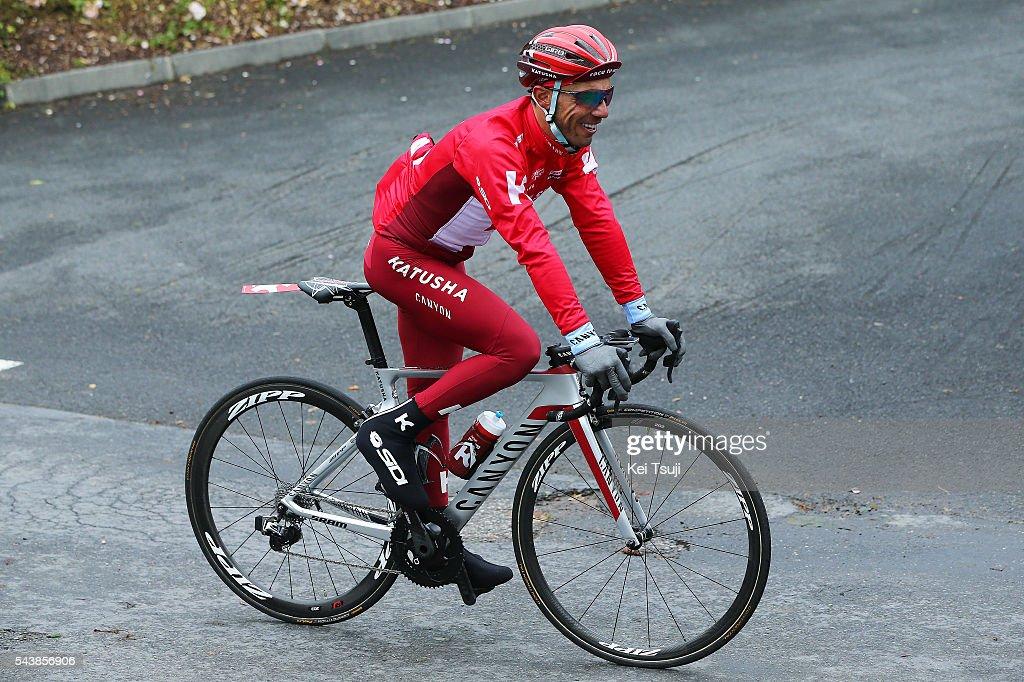 103th Tour de France 2016 / Training Team Katusha Joaquin RODRIGUEZ (ESP)/ Training Team Katusha (RUS)/ TDF /