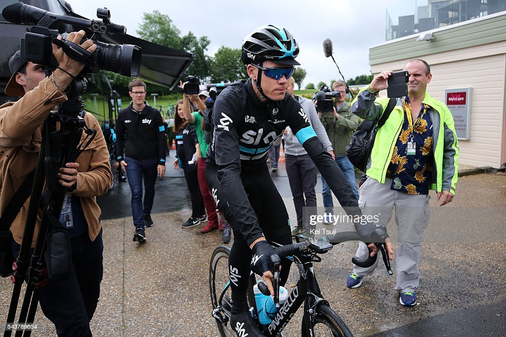 103th Tour de France 2016 / Training Team Sky Christopher FROOME (GBR)/ TDF /