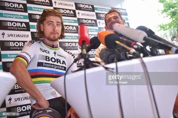 104th Tour de France 2017 / PC Team BORA hansgrohe Peter SAGAN / Press Conference/ Team BORA hansgrohe / TDF/