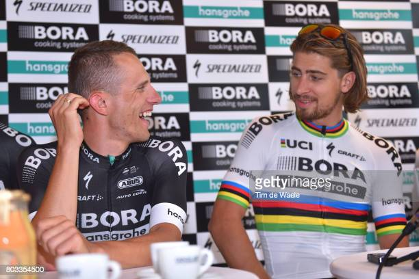 104th Tour de France 2017 / PC Team BORA hansgrohe Rafal MAJKA / Peter SAGAN / Press Conference/ Team BORA hansgrohe / TDF/