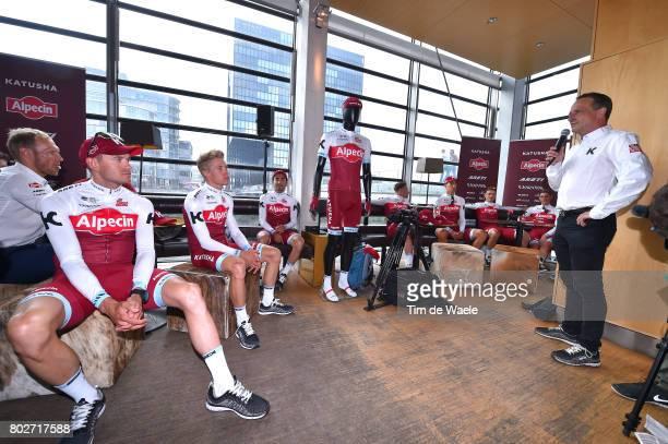 104th Tour de France 2017 / PC Team Katusha Alpecin Alexander KRISTOFF / Maurits LAMMERTINK / Tiago MACHADO / Marco HALLER / Reto HOLLENSTEIN / Tony...