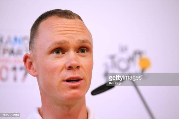 104th Tour de France 2017 / PC Team SKY Christopher FROOME / Press Conference / Team SKY / TDF /