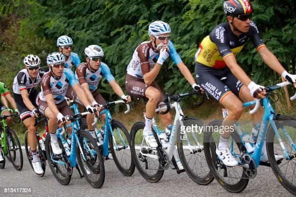 104th Tour de France 2017 / Stage 11 Oliver NAESEN / Romain BARDET / Cyril GAUTIER / Jan BAKELANTS / Eymet Pau / TDF /