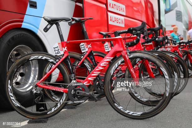 104th Tour de France 2017 / Stage 11 Start / Rick ZABEL / Canyon Bike / Team Katusha Alpecin / Eymet Pau / TDF/