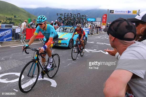 104th Tour de France 2017 / Stage 12 Jakob FUGLSANG / Yukiya ARASHIRO / Pau Peyragudes 1580m / TDF /