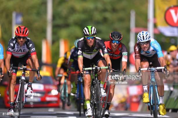104th Tour de France 2017 / Stage 13 Arrival / Diego ULISSI / Serge PAUWELS / Damiano CARUSO / Pierre LATOUR / Saint Girons Foix / TDF/