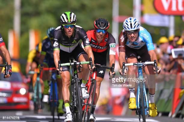 104th Tour de France 2017 / Stage 13 Arrival /Serge PAUWELS / Damiano CARUSO / Pierre LATOUR / Saint Girons Foix / TDF/