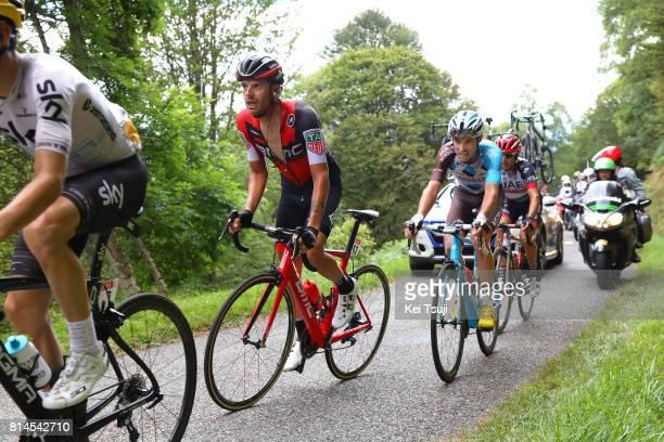 104th Tour de France 2017 / Stage 13 Damiano CARUSO / Pierre LATOUR / Diego ULISSI / Mur de Peguere / Saint Girons Foix / TDF/