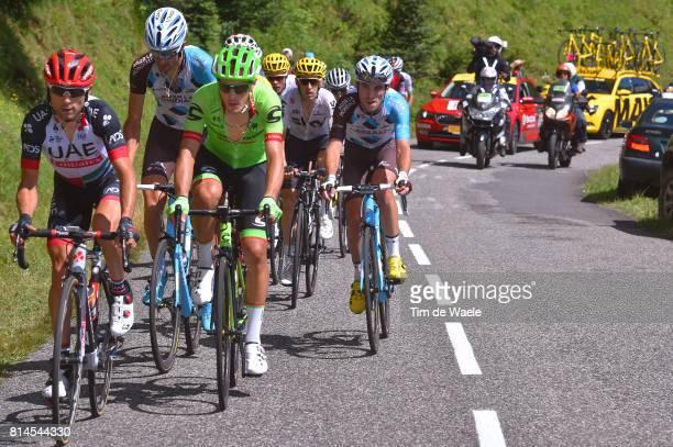 104th Tour de France 2017 / Stage 13 Diego ULISSI / Alberto BETTIOL / Ben GASTAUER / Pierre LATOUR / Saint Girons Foix / TDF/
