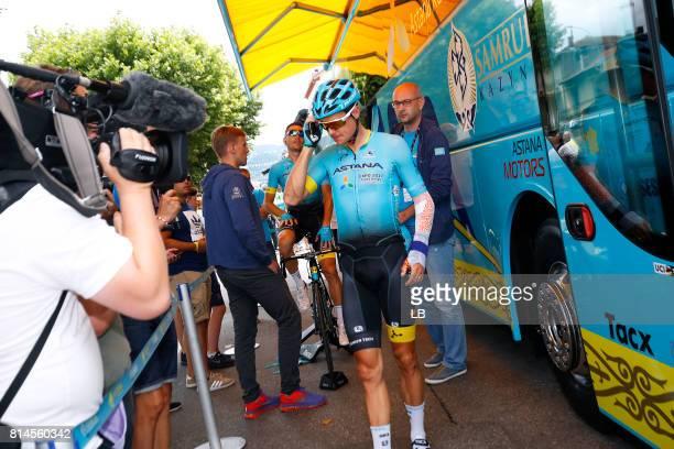 104th Tour de France 2017 / Stage 13 Jakob FUGLSANG / Injury / Saint Girons Foix / TDF/