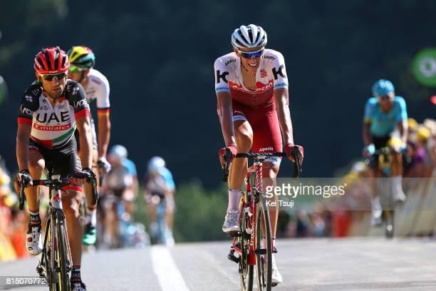 104th Tour de France 2017 / Stage 14 Arrival / Diego ULISSI / Nils POLITT / Blagnac RodezCote de SaintPierre 563m / TDF /