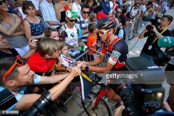 104th Tour de France 2017 / Stage 14 Greg VAN AVERMAET / Public / Fans / Blagnac RodezCote de SaintPierre 563m / TDF /