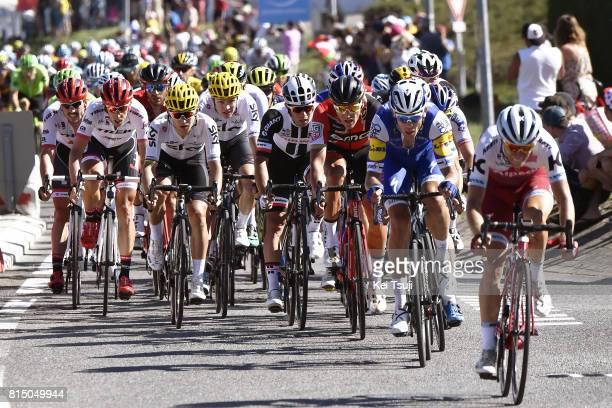 104th Tour de France 2017 / Stage 14 Jack BAUER / Greg VAN AVERMAET / Michael MATTHEWS / Michal KWIATKOWSKI / Christopher FROOME / Koen DE KORT /...