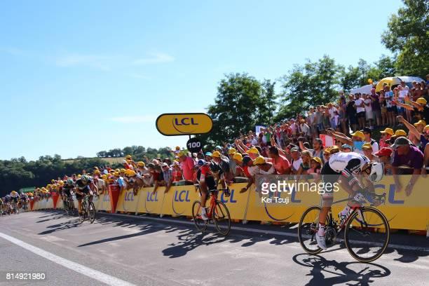 104th Tour de France 2017 / Stage 14 Michael MATTHEWS / Greg VAN AVERMAET / Edvald BOASSON HAGEN / Blagnac RodezCote de SaintPierre 563m / TDF/