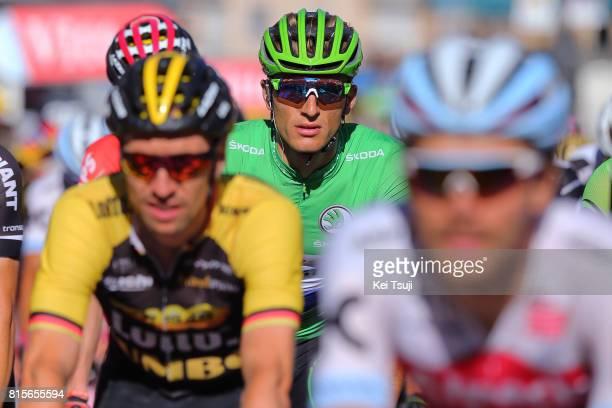 104th Tour de France 2017 / Stage 15 Arrival / Marcel KITTEL Green Sprint Jersey / Laissac Severac l'Eglise Le Puy en Velay / TDF /
