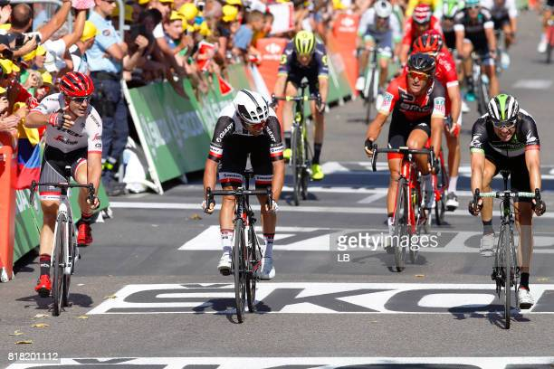 104th Tour de France 2017 / Stage 16 Arrival / John DEGENKOLB / Michael MATTHEWS / Edvald BOASSON HAGEN / Greg VAN AVERMAET / Le Puy en Velay Romans...