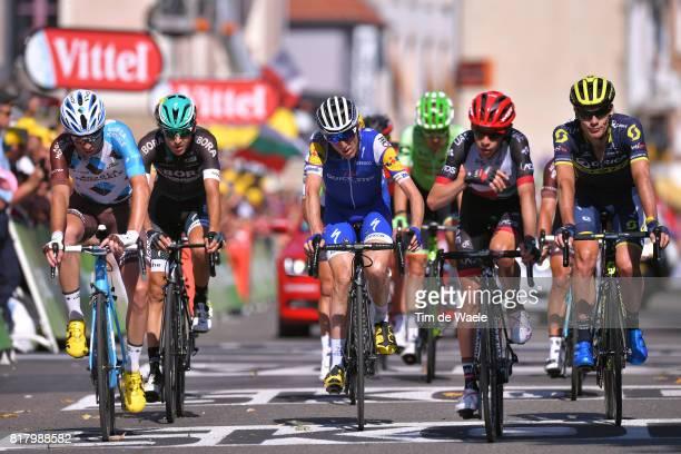 104th Tour de France 2017 / Stage 16 Arrival / Pierre LATOUR / Emanuel BUCHMANN / Daniel MARTIN / Louis MEINTJES / Daryl IMPEY / Le Puy en Velay...