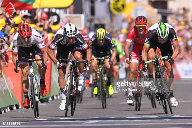 104th Tour de France 2017 / Stage 16 Arrival / Sprint / John DEGENKOLB / Michael MATTHEWS / Edvald BOASSON HAGEN / Le Puy en Velay Romans sur Isere /...