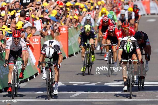 104th Tour de France 2017 / Stage 16 Arrival Sprint / John DEGENKOLB / Michael MATTHEWS / Edvald BOASSON HAGEN / Christophe LAPORTE / Greg VAN...