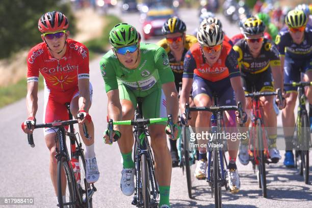 104th Tour de France 2017 / Stage 16 Christophe LAPORTE / Marcel KITTEL Green Sprint Jersey / Peloton / Le Puy en Velay Romans sur Isere / TDF /
