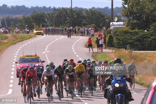 104th Tour de France 2017 / Stage 16 Greg VAN AVERMAET / Tony GALLOPIN / Reinardt JANSE VAN RENSBURG / Daniele BENNATI / Nairo QUINTANA / Fabio ARU /...