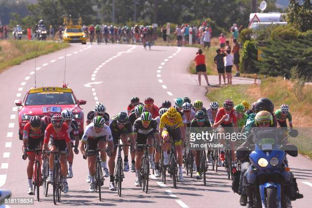 104th Tour de France 2017 / Stage 16 Greg VAN AVERMAET / Tony GALLOPIN / Reinardt JANSE VAN RENSBURG / Daniele BENNATI / Nairo QUINTANA / Christopher...