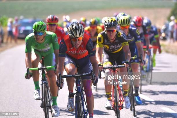104th Tour de France 2017 / Stage 16 Javier MORENO / Marcel KITTEL Green Sprint Jersey / Le Puy en Velay Romans sur Isere / TDF /