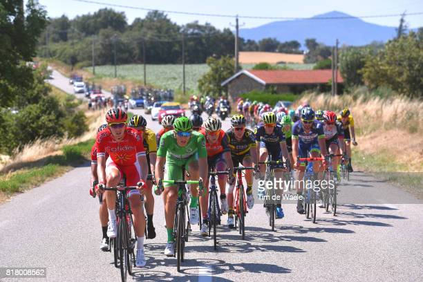 104th Tour de France 2017 / Stage 16 Marcel KITTEL Green Sprint Jersey / Peloton / Le Puy en Velay Romans sur Isere / TDF /