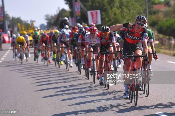 104th Tour de France 2017 / Stage 16 Stefan KUNG / Greg VAN AVERMAET / Peloton / Refreshing / Le Puy en Velay Romans sur Isere / TDF /