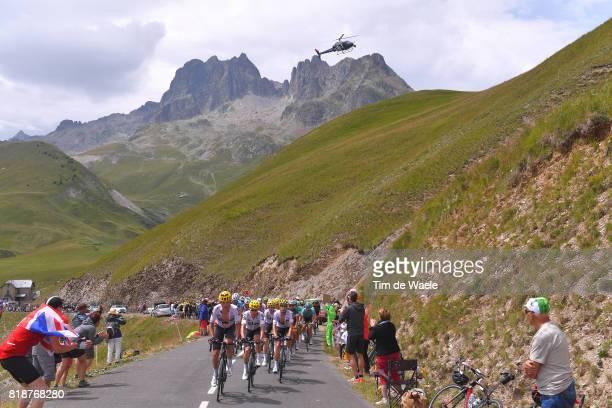 104th Tour de France 2017 / Stage 17 Landscape / Vasil KIRYIENKA / Michal KWIATKOWSKI / Mikel LANDA MEANA / Mikel NIEVE ITURALDE / Team SKY /...
