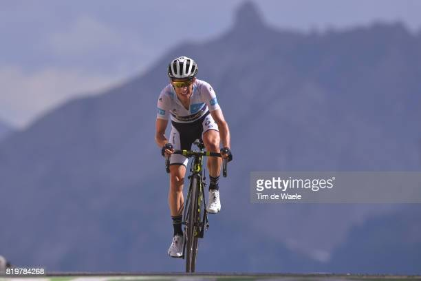 104th Tour de France 2017 / Stage 18 Arrival / Simon YATES White Best Young Rider Jersey / Briancon IzoardCol d'Izoard 2360m / TDF /
