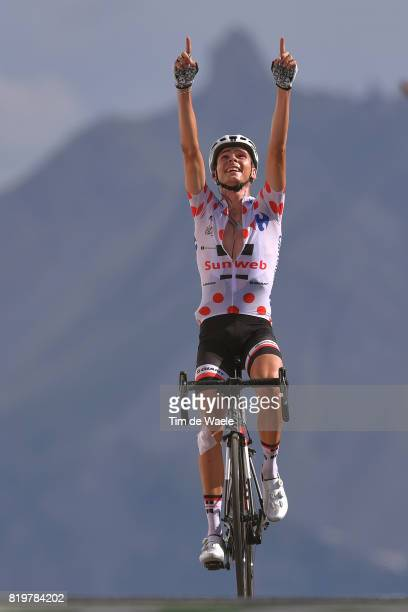 104th Tour de France 2017 / Stage 18 Arrival / Warren BARGUIL Polka Dot Mountain Jersey / Briancon IzoardCol d'Izoard 2360m / TDF /