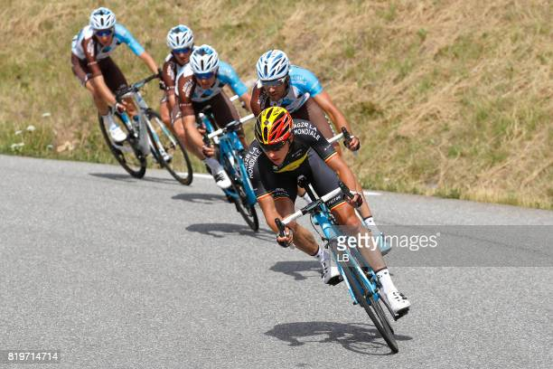 104th Tour de France 2017 / Stage 18 Oliver NAESEN / Team AG2R La Mondiale / Briancon IzoardCol d'Izoard 2360m / TDF /