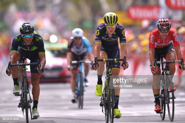 104th Tour de France 2017 / Stage 19 Arrival / Daniele BENNATI / Jens KEUKELEIRE / Thomas DE GENDT / Embrun Salon de Provence / TDF /