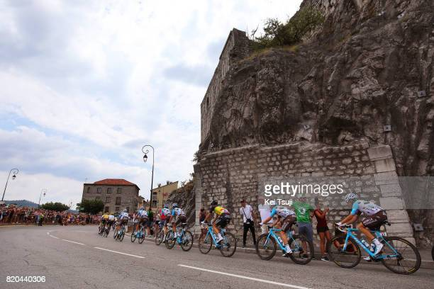 104th Tour de France 2017 / Stage 19 Mathias FRANK / Axel DOMONT / Oliver NAESEN / Alexis VUILLERMOZ / Romain BARDET / Ben GASTAUER / Team AG2E la...