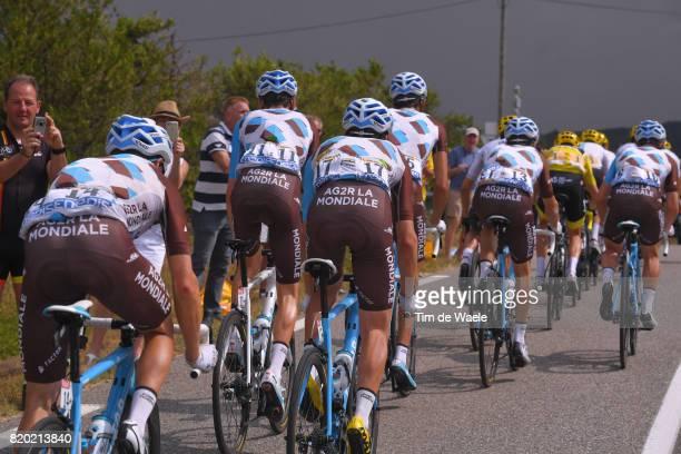104th Tour de France 2017 / Stage 19 Mathias FRANK / Romain BARDET / Pierre LATOUR / Team AG2R La Mondiale / Embrun Salon de Provence / TDF /