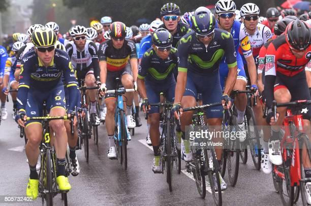 104th Tour de France 2017 / Stage 2 Daniele BENNATI / Nairo QUINTANA / Dusseldorf Liege / TDF /