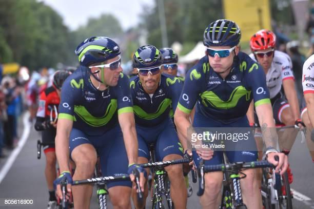 104th Tour de France 2017 / Stage 2 Jonathan CASTROVIEJO / Jasha SUTTERLIN / Daniele BENNATI / Dusseldorf Liege / TDF/