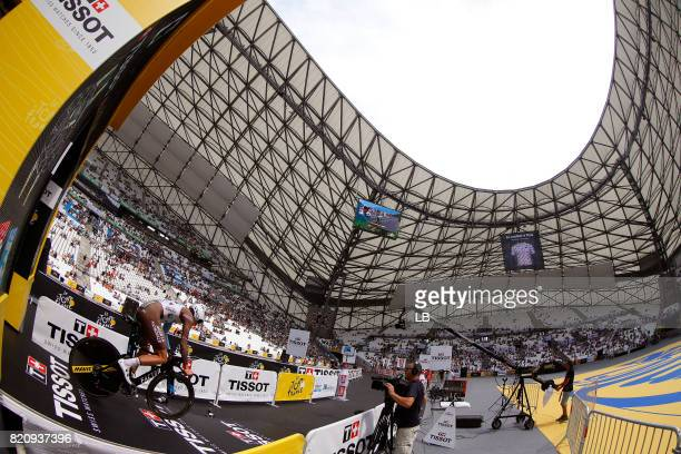 104th Tour de France 2017 / Stage 20 Start / Oliver NAESEN / Marseille Marseille / ITT / Individual Time Trial /TDF /