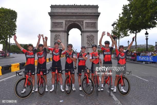 104th Tour de France 2017 / Stage 21 Arrival / Damiano CARUSO / Alessandro DE MARCHI / Stefan KUNG / Amael MOINARD / Nicolas ROCHE / Michael SCHAR /...