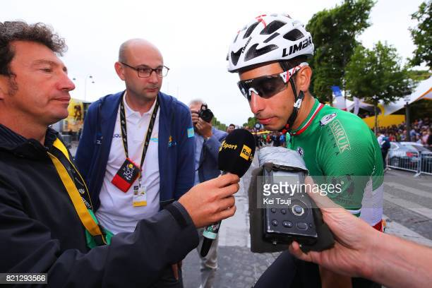 104th Tour de France 2017 / Stage 21 Arrival / Fabio ARU / Vitalii ABRAMOV Press Officer Astana Pro Team / Montgeron Paris ChampsElysees / TDF /