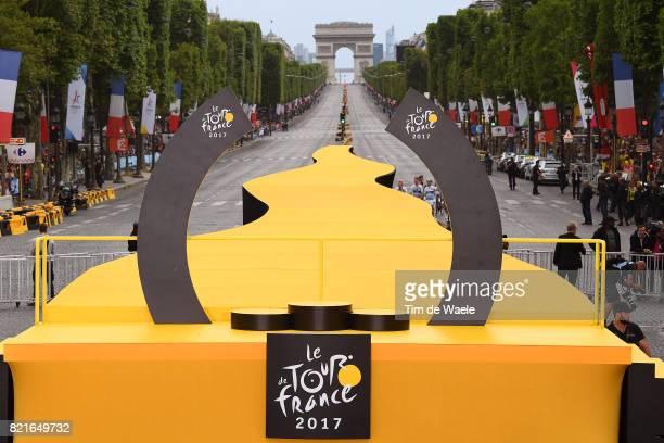 104th Tour de France 2017 / Stage 21 Illustration / Podium / Arc de Triomphe / Montgeron Paris ChampsElysees / TDF /pool ff/