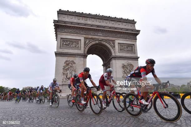 104th Tour de France 2017 / Stage 21 Landscape / Greg VAN AVERMAET / Peloton / PARIS City / Arc De Triomphe / Montgeron Paris ChampsElysees / TDF /