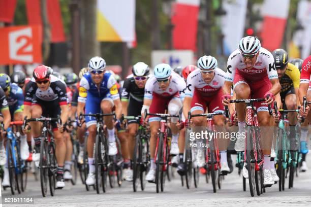 104th Tour de France 2017 / Stage 21 Nils POLITT / Florian SENECHAL / Montgeron Paris ChampsElysees / TDF /