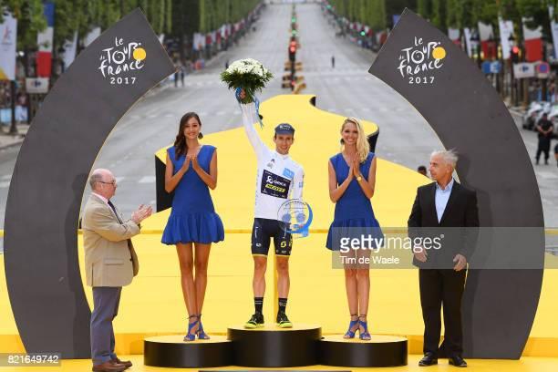 104th Tour de France 2017 / Stage 21 Podium / Simon YATES White Best Young Rider Jersey / Celebration / Montgeron Paris ChampsElysees / TDF /pool ff/