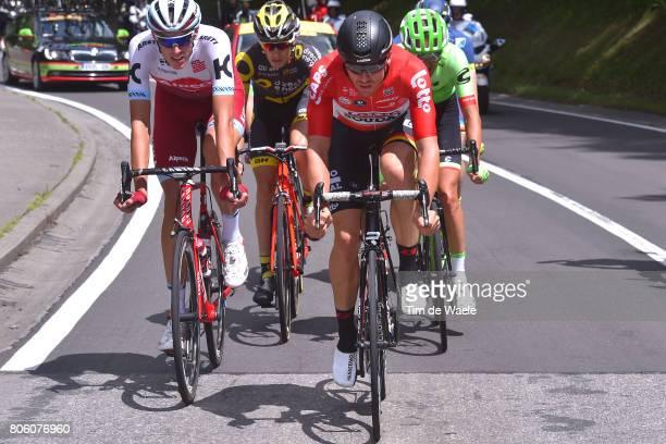 104th Tour de France 2017 / Stage 3 Adam HANSEN / Nils POLITT / Romain SICARD / Verviers LongwyCote des Religieuses 379m / TDF/