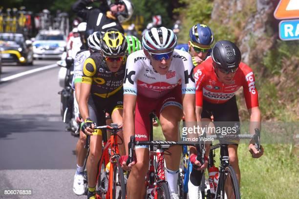 104th Tour de France 2017 / Stage 3 Nils POLITT / Adam HANSEN / Romain SICARD / Verviers LongwyCote des Religieuses 379m / TDF/
